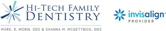 Hi-Tech Family Dentistry and Invisalign logo